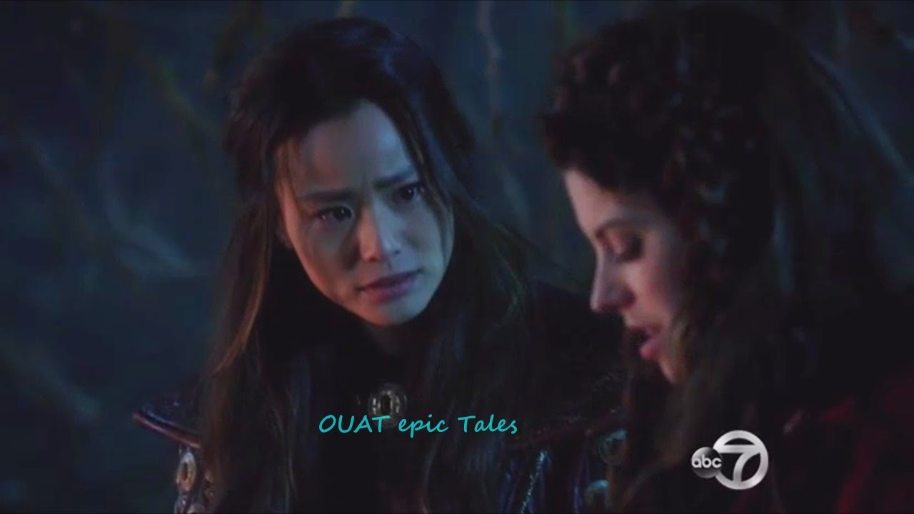 Once Upon A Time 5x18 Ruby And Mulan Talk About Dorothy