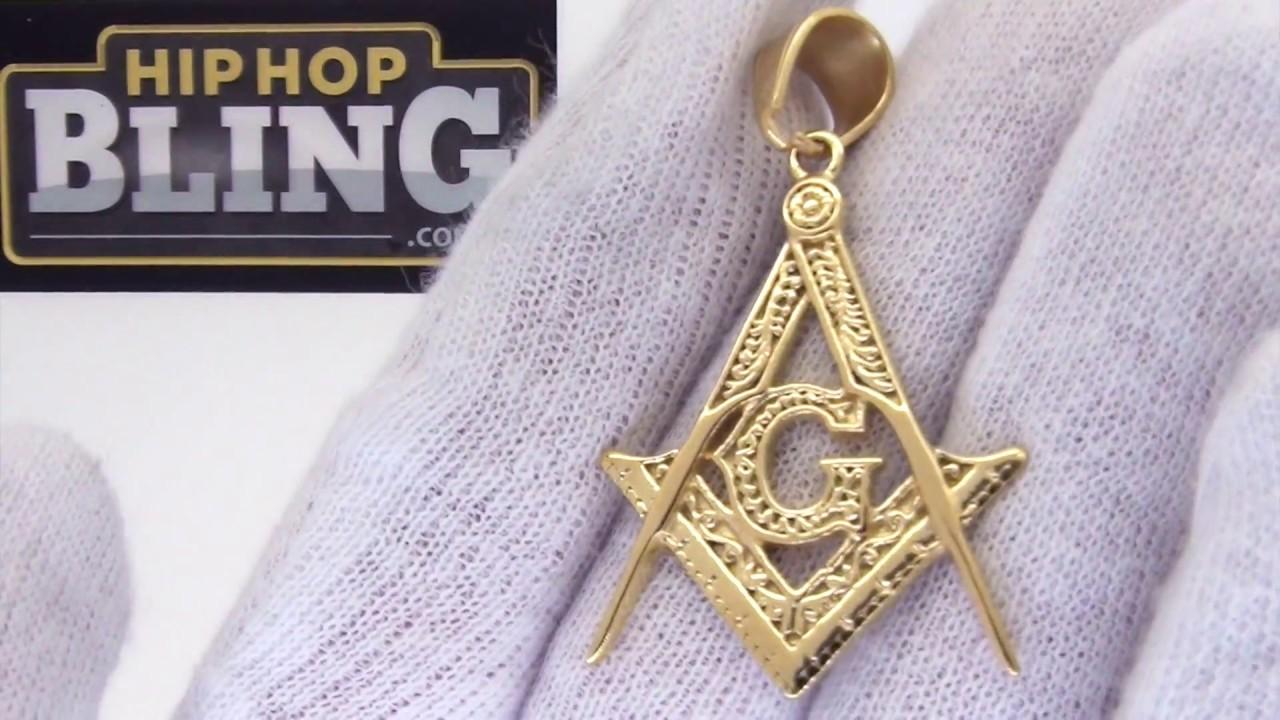 Detailed free mason pendant masonic jewelry gold steel youtube detailed free mason pendant masonic jewelry gold steel aloadofball Gallery