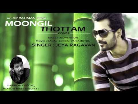 moongil thottamcovermale version jeya ragavan youtube