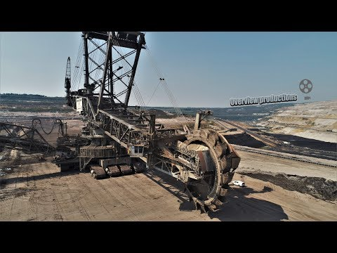 open-cast mining Garzweiler The biggest excavators in the world Mp3