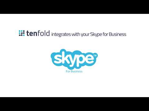 Tenfold CTI - Salesforce CRM and Skype for Business