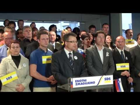 Predstavitev kandidatov SDS za volitve v državni zbor