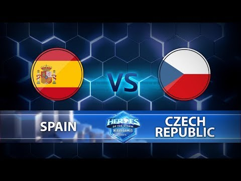Nexus Games Europe - Group C Match 4 – Spain vs. Czech Republic - Game 1