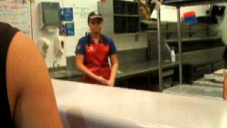 Peanut Butter And Jelly Pizza Please - Deep Dish (joke)