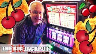 🍒SURPRISE JACKPOT! 🍒3 Reel Cherries Pay Handpays 💥| The Big Jackpot