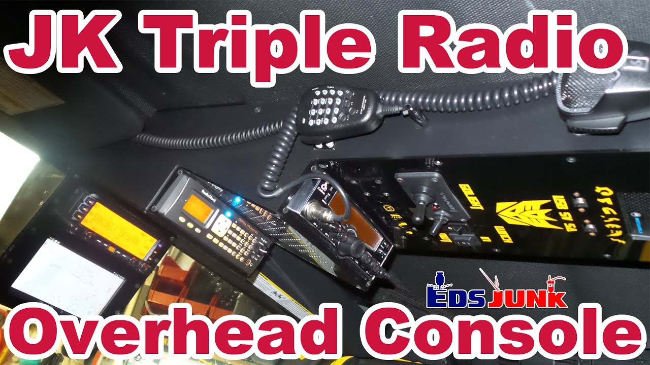 Jeep Jk Custom Triple Radio Overhead Console Mod Youtube