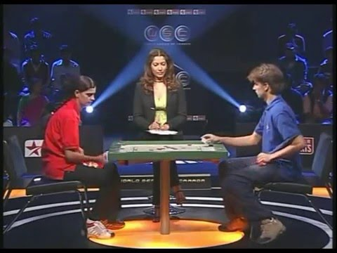 Carrom Semi- Final P. Nirmala vs Pierre Dubois in ESPN World Series Of Carrom 2006