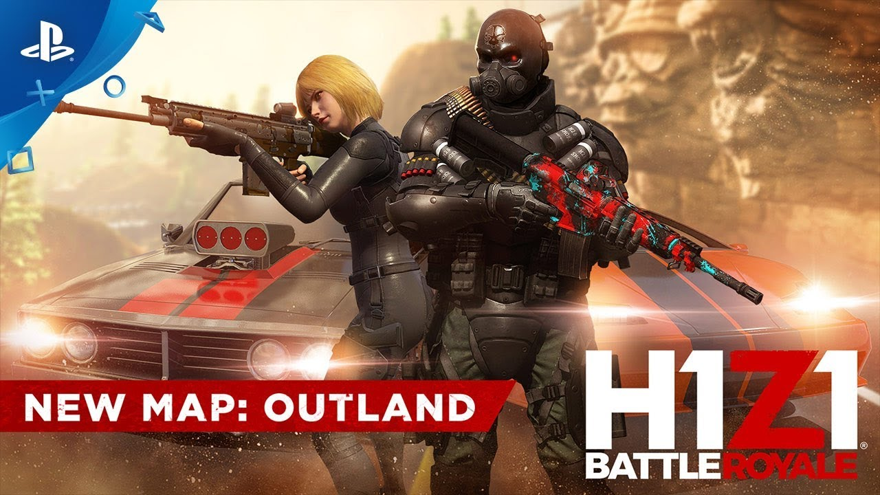 H1Z1 PS4 Outland update adds a new map, new vehicles, and