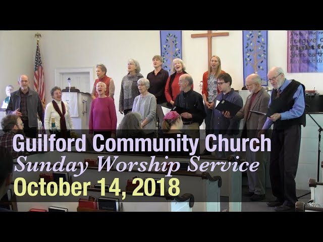 Guilford Church Service - 10/14/18