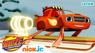 Clase de Física con Blaze - parte 5 | Blaze and the Monster Machines
