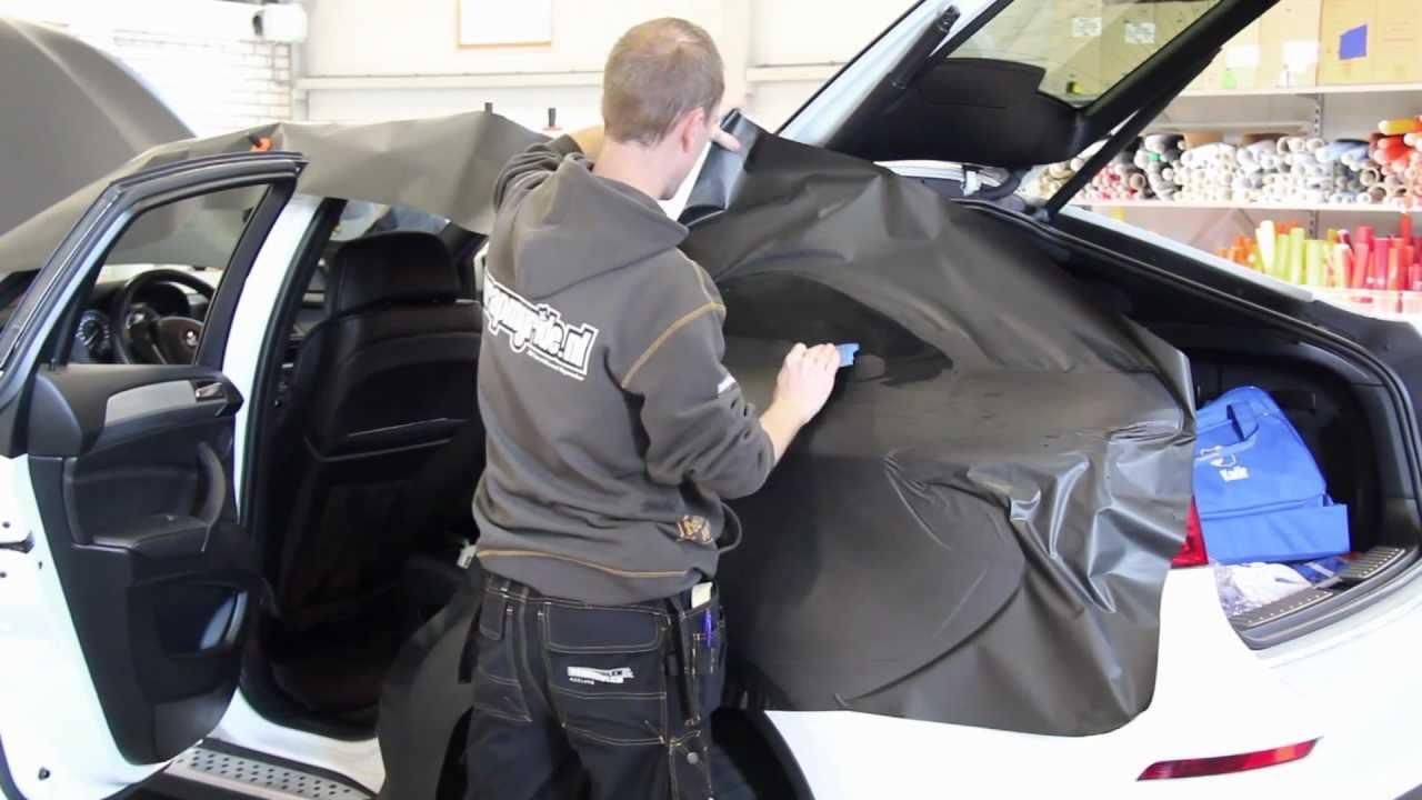 Carwrap Bmw X6 Matte Black Hd 1080p Video Mov Youtube