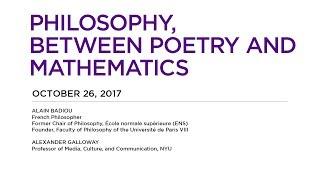 Philosophy, Between Poetry and Mathematics