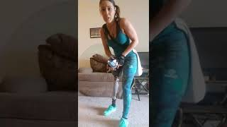 Taking my prosthetic leg off, relief after the gym amputee life