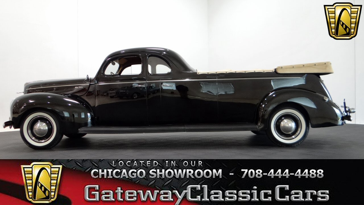 1940 Ford Deluxe Flower Car Gateway Classic Cars Chicago #977 - YouTube
