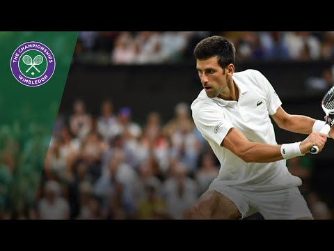 Best rallies of Wimbledon 2018