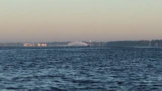 Fountain Powerboats V-bottom Kilo Record Attempt - Feb. 27, 2018