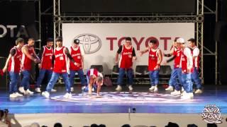 PRELIMINARY SHOWCASE 06 90's Bboyz | 2015 TOYOTA BOTY TAIWAN