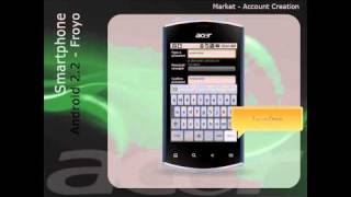 Android Market - Create an Account (English)