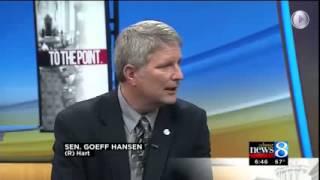 Senator Goeff Hansen talks to  WOOD TV School Aid Budget