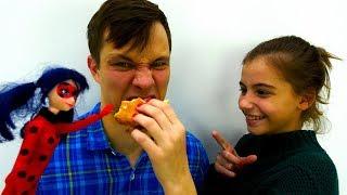 Супер челлендж - обычная еда против мармеладной