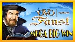 MEGA BIG WIN| Ovo Casino- FAUST auf 1€ und 2€