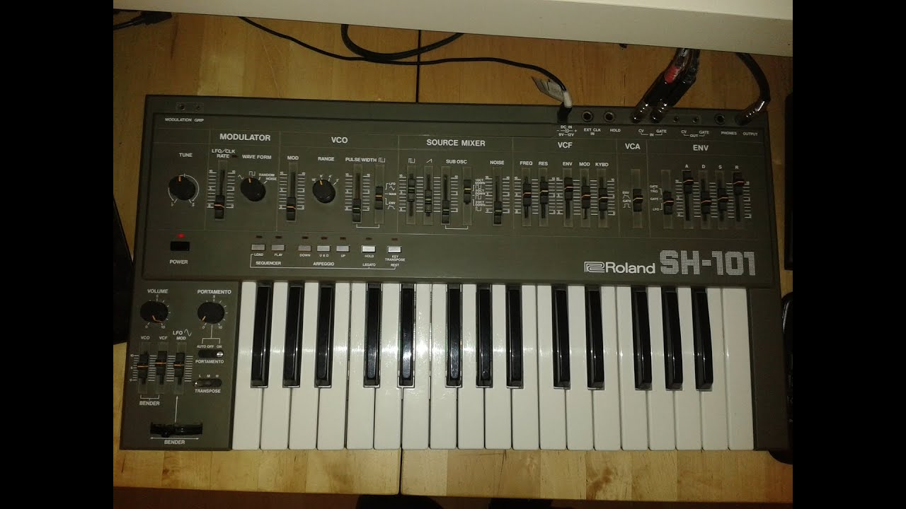 cv control sh101 from elektron analog four