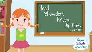 Kijk Head shoulders Knees and Toes (learn) filmpje