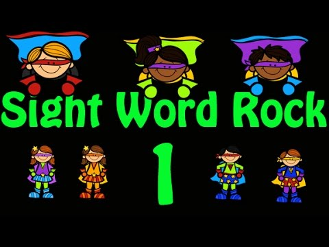 Sight Word Rock 1 (Fry's Sight Words 1-10) - Kindergarten Sight Words
