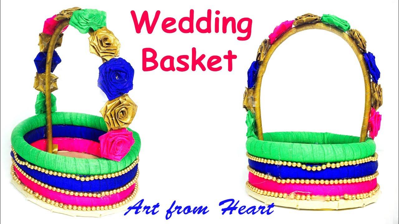 DIY - How to make decorative wedding basket? Wedding decoration ...
