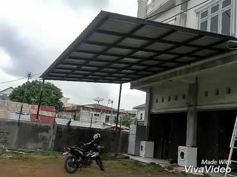 Kanopi Baja Hollow Model Besi 30 90 Youtube
