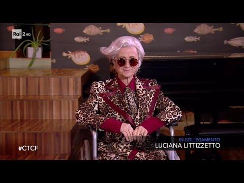 Luciana Littizzetto nei panni di Morgan, anzi 'Morgana' - Che tempo che fa 16/02/2020