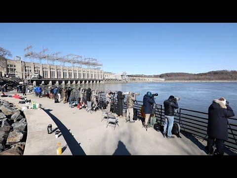 UNBELIEVABLE CAMERA GEAR At Conowingo Dam For Bald Eagle Photography