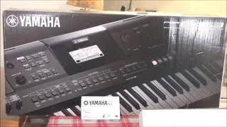 Yamaha PSR E463 Keyboard Unboxing And Quick Test