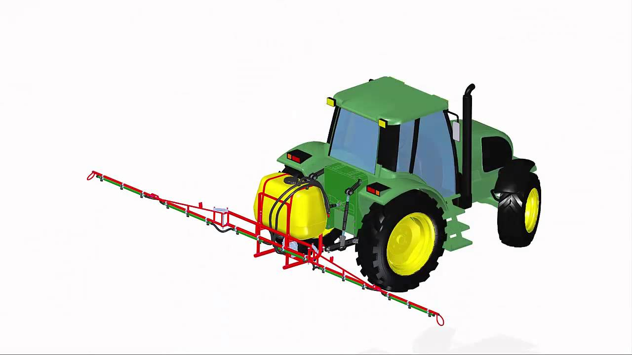 Agricultural Machinery Design : Agricultural machinery design tractor with point