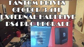 Fantom Drives Gforce/3 4TB USB 3.0 PS4 Pro Storage Upgrade