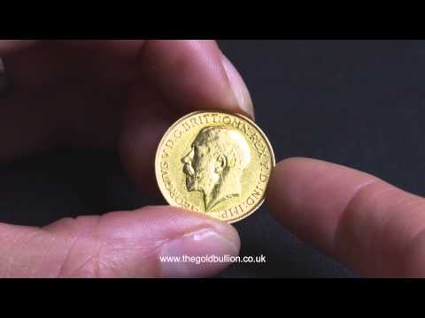King George V Gold Sovereign Coin