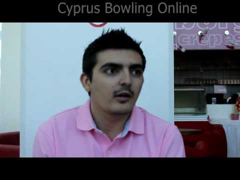 European Bowling Champion Yiannis Stathatos Interview - Limassol 4.7.2010