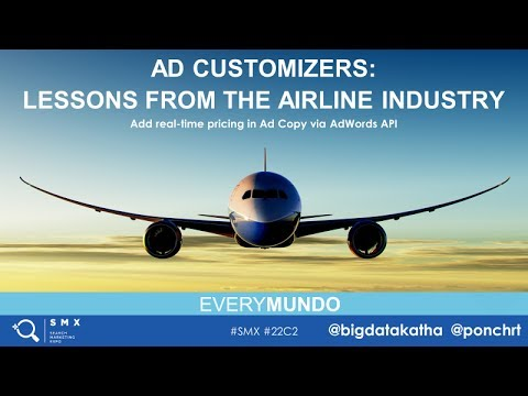 EveryMundo | Ad Customizers: Lessons from the Airline Indust