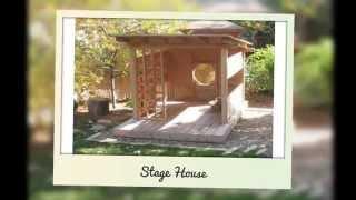 Natural Playground Equipment - Rustic Furniture