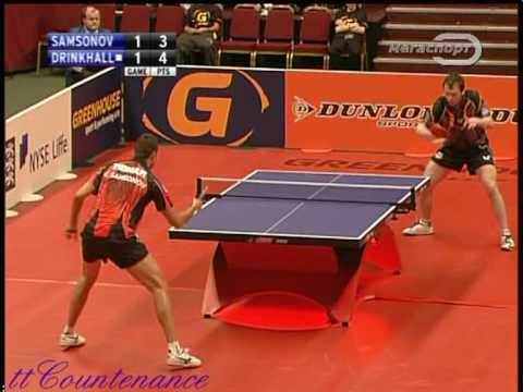 Paul Drinkhall vs timo boll