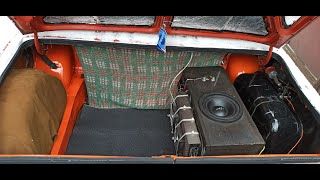 Вторая жизнь багажника ВАЗ 2101