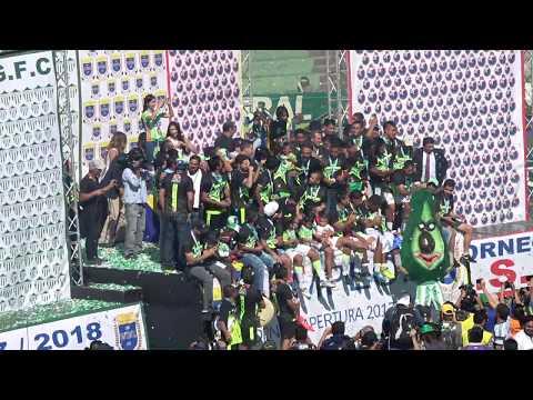¡Antigua GFC Campeón Apertura 2017!