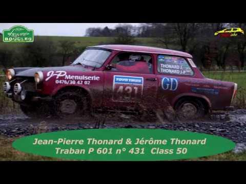 Legend Boucles Bastgne 2020 - JP Thonard & J Thonard - Traban P601 N°431 - Class 50