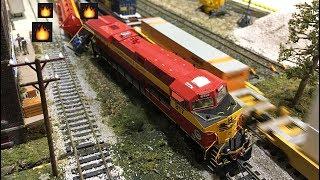 HO Scale Model Train Compilation! 2018
