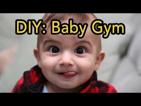 DIY Baby Gym | Wood Turning Project