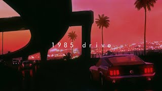 it's summer 1985, you're driving at night