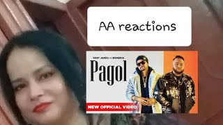 Pakistani react on Pagol song by Deep Jandu and Bohemia | AA reactions