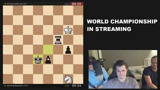 Magnus Carlsen Streams Blitz Titled Arena April 2021 and Strange Play On Lichess org