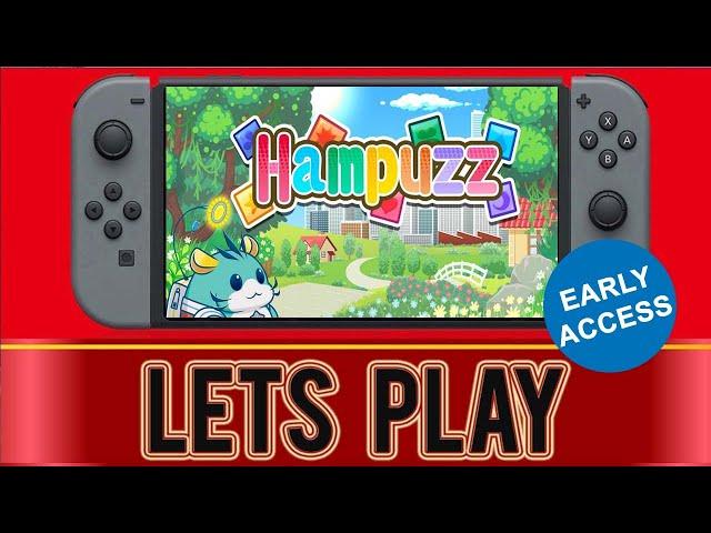 Hampuzz Nintendo Switch Gameplay