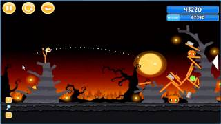 Angry Birds trick or treat 3 Estrellas instancia de parte 3-9